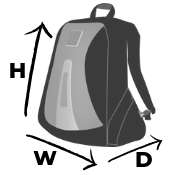Backpack Review Dimensions