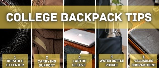 College Backpack Tips