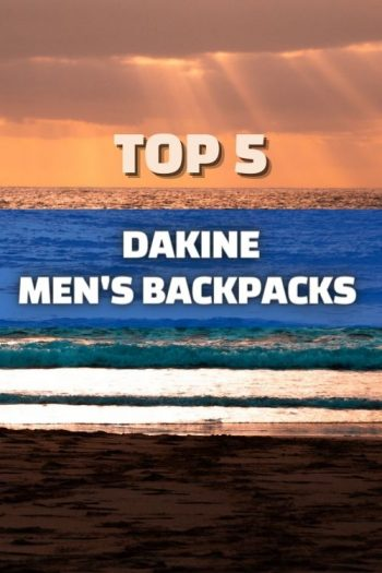 Top 5 Dakine Men's Backpacks and Bags